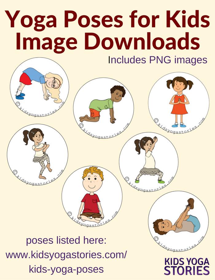 Kids Yoga Poses In Spanish Stories Books