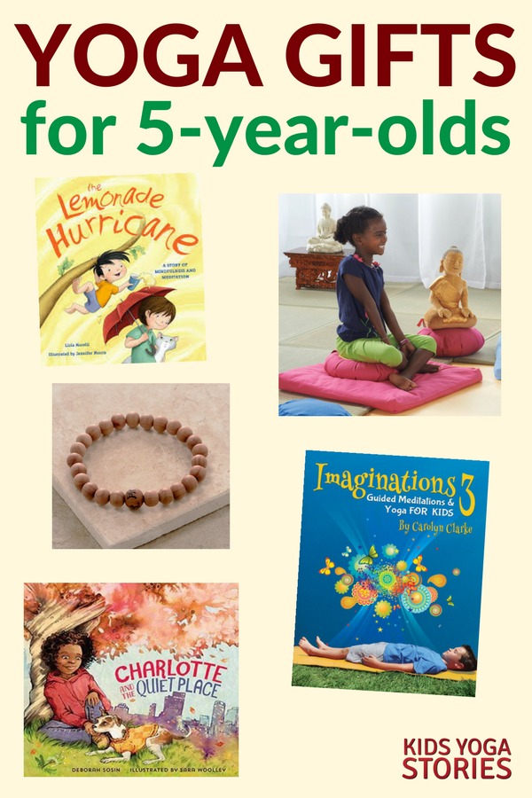 5 Yoga Gifts for 5-year-olds to invite calm and mindfulness | Kids Yoga Stories
