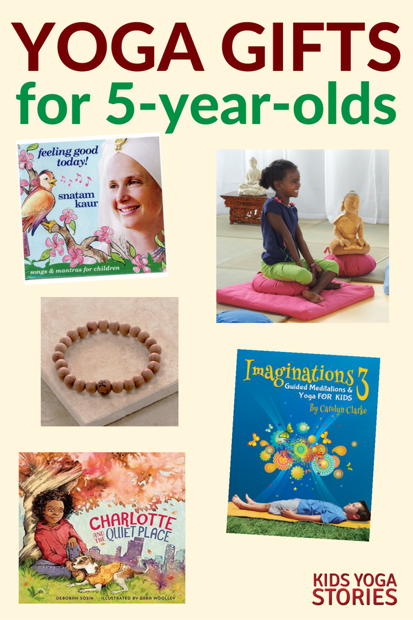 Yoga Gifts for 5-Year-Olds