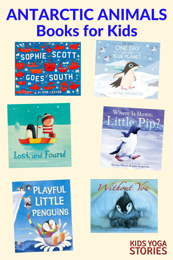 Antarctica Books for Kids | Kids Yoga Stories