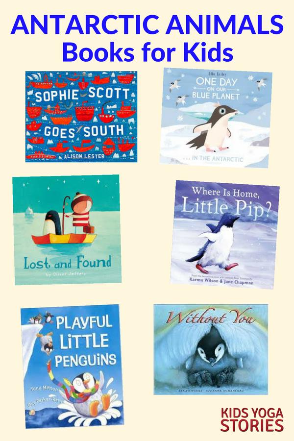 Antarctica Books for Kids | Kids Yoga Stories