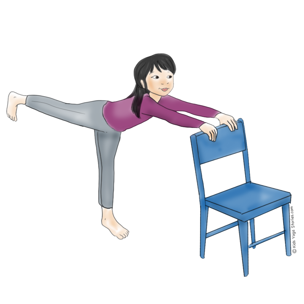 Chair yoga poses - 5 Winter Yoga Poses Using A Chair