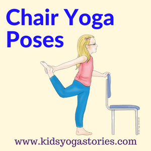 photograph relating to Chair Yoga for Seniors Printable named 40 Child-Helpful Chair Yoga Poses - Young children Yoga Experiences Yoga