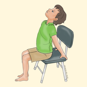 Cobra Pose Using a Chair | Kids Yoga Stories