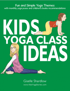 Kids Yoga Class Ideas PDF Download cover | Kids Yoga Stories
