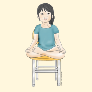 Lotus Pose in a Chair | Kids Yoga Stories
