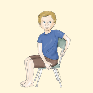 Seated Twist in a Chair | Kids Yoga Stories