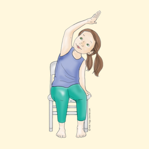 Side Bend Using a Chair | Kids Yoga Stories