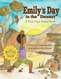 Emily's Day in the Desert yoga book | Kids Yoga Stories