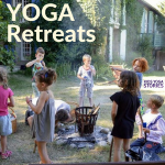 Family Yoga Retreat Ideas to France, Portugal, and India by BookYogaRetreats.com | Kids Yoga Stories