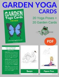 Garden Yoga Cards for Kids PDF Download (English) Image