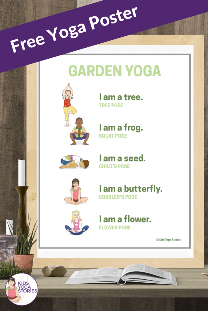 garden yoga poses for kids | Kids Yoga Stories