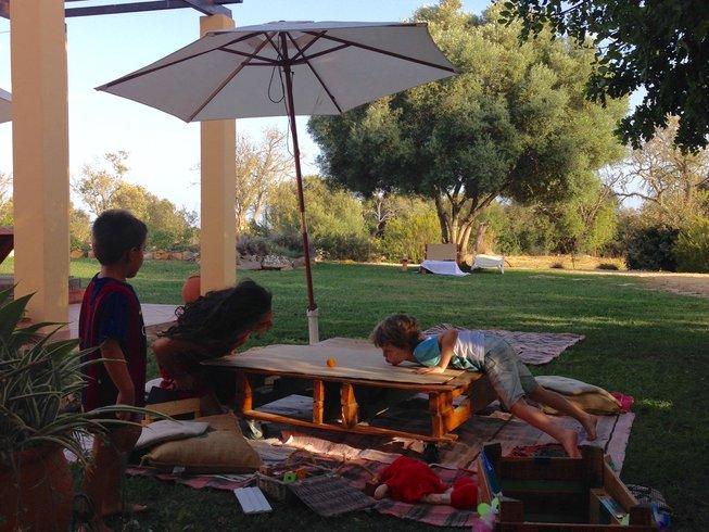 Family yoga retreat in Portugal