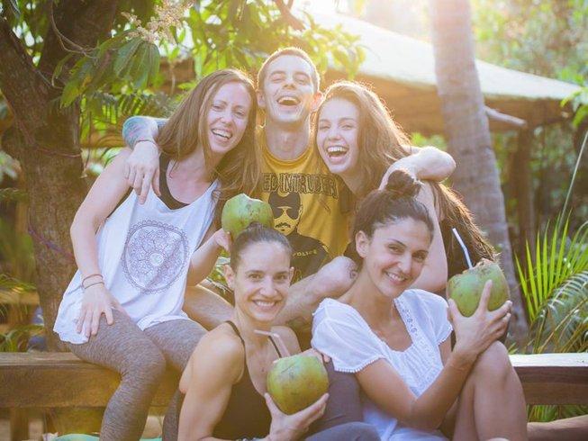 Family yoga retreat to India