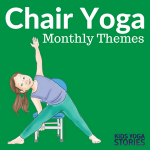 Collection of Chair Yoga Ideas for Kids