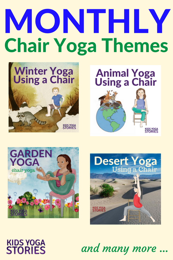 Collection of Chair Yoga Ideas for your Classroom or