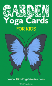 Garden Yoga Cards for Kids PDF Download | Kids Yoga Stories