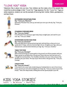 Kids Yoga Class Ideas PDF Download (English) Image