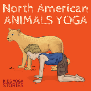 North American Animals Alphabet Yoga - learn the alphabet by acting out the A to Z of North American animals | Kids Yoga Stories