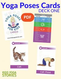Yoga Poses for Kids Cards (Deck One) PDF Download (English) Image