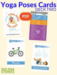 More Yoga Poses for Kids Cards (Deck Two) PDF Download Image