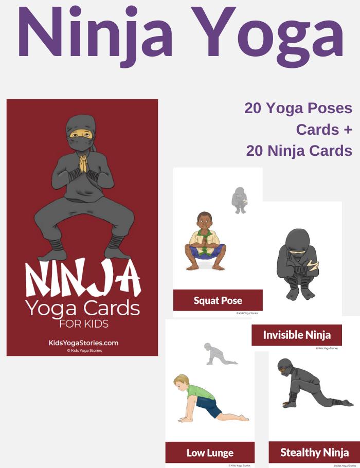 Ninja Yoga Cards for Kids   Kids Yoga Stories
