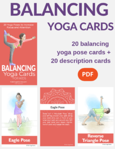 balancing exercises for kids, balancing yoga poses | Kids Yoga Stories