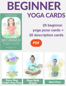 beginner yoga poses for kids | Kids Yoga Stories