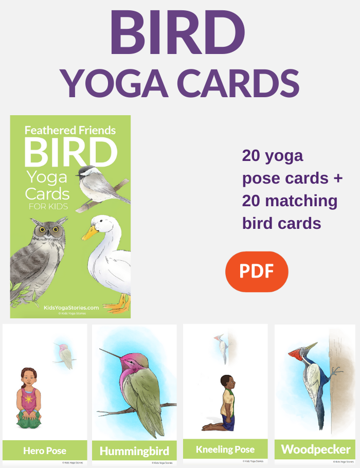 Bird Yoga Poses for Kids | Kids Yoga Stories