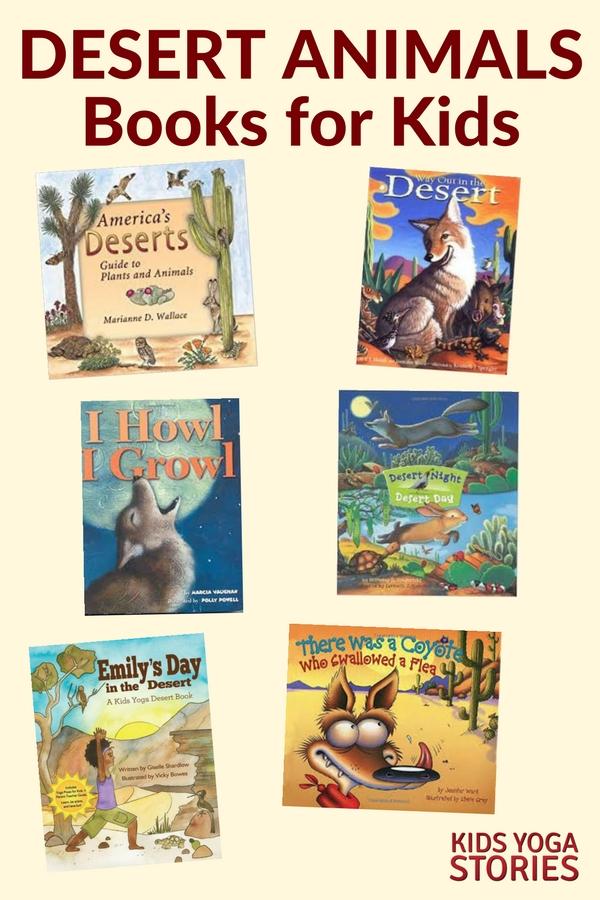 5 Desert Yoga Poses and 5 Desert Books for Kids   Kids Yoga Stories