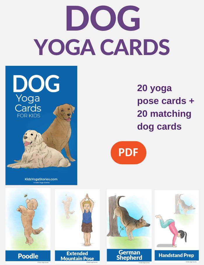 Dog Yoga Poses for Kids | Kids Yoga Poses