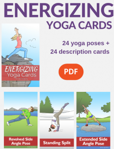 Energizing Yoga Cards for Kid | Kids Yoga Stories