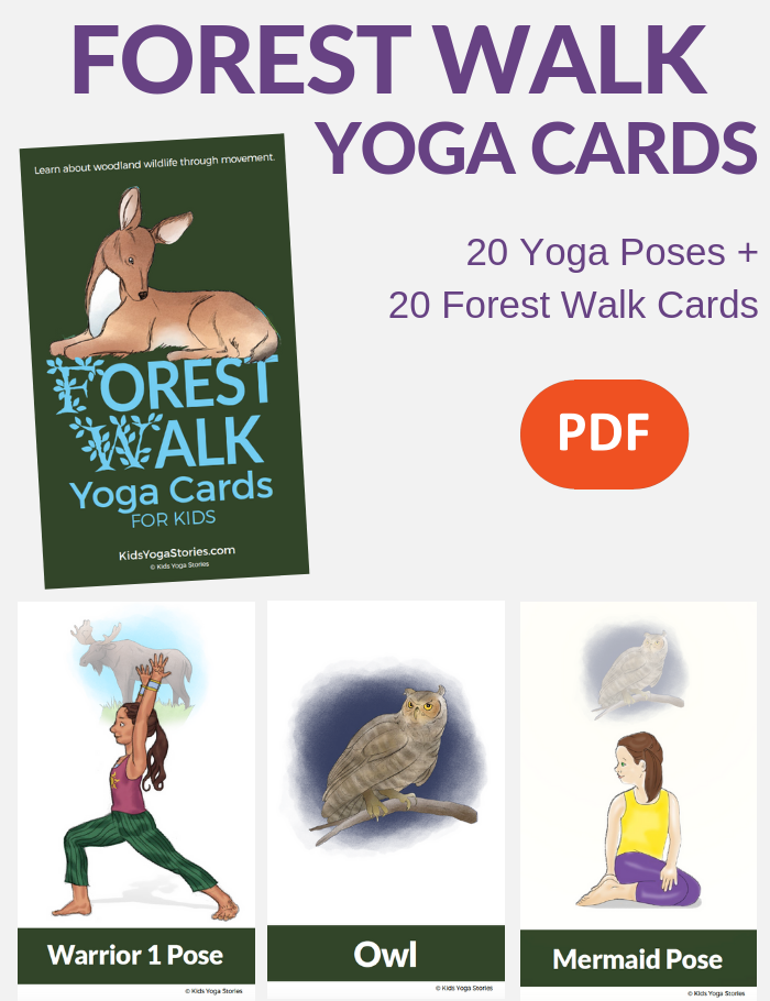 forest yoga poses for kids | Kids Yoga Stories