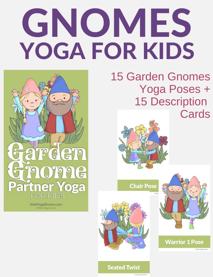 garden gnome activities yoga for kids | Kids Yoga Stories