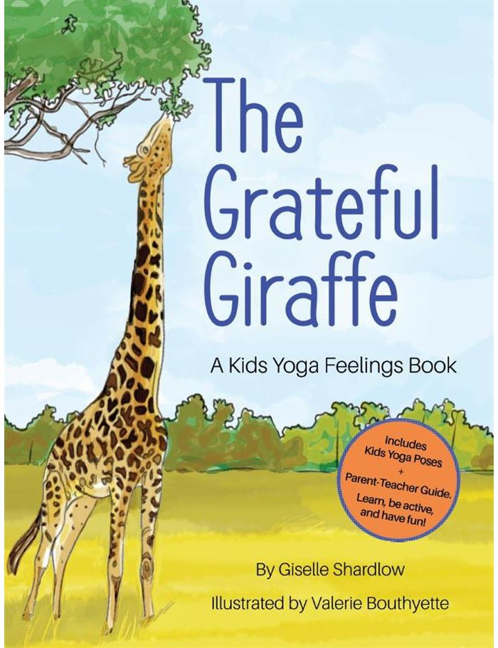 The Grateful Giraffe (English) Image