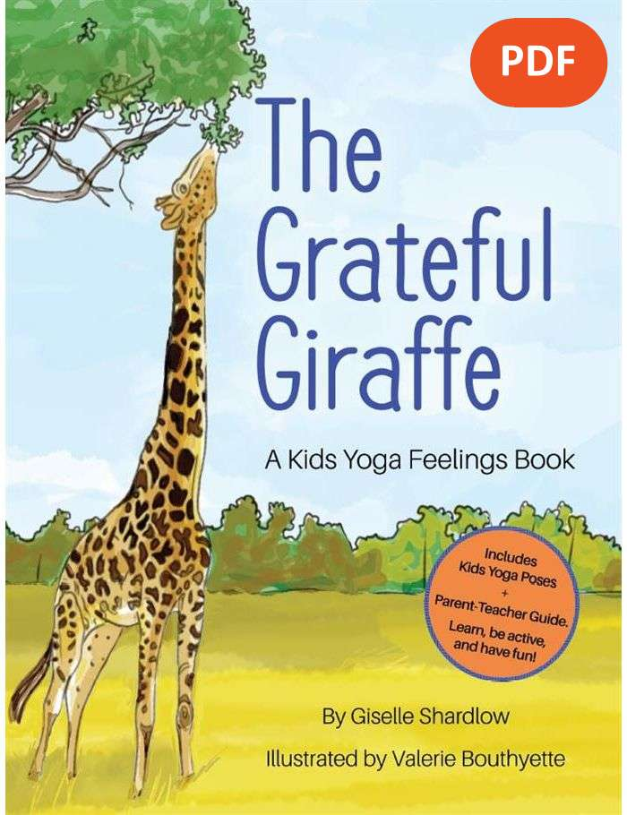 The Grateful Giraffe - toddler yoga books for kids | Kids Yoga Stories