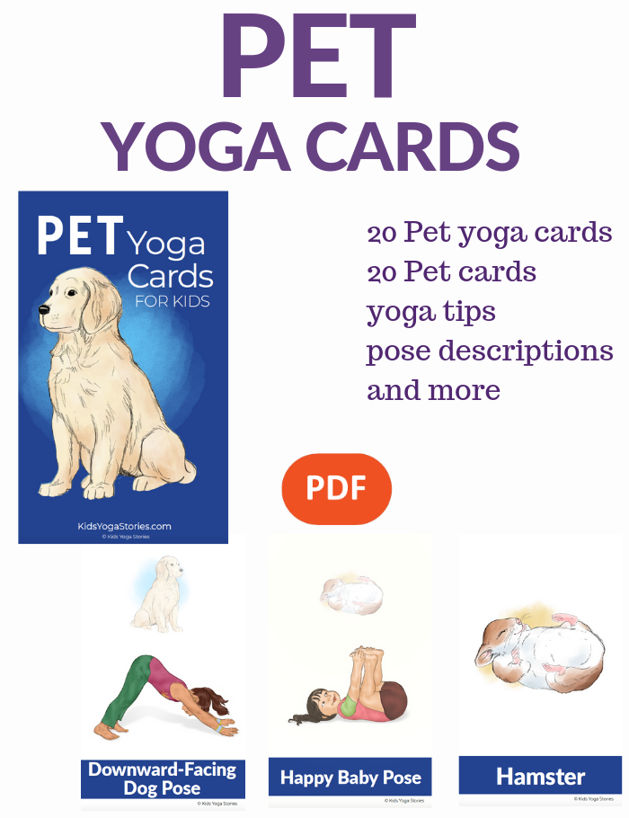 pet yoga poses for kids | Kids Yoga Stories