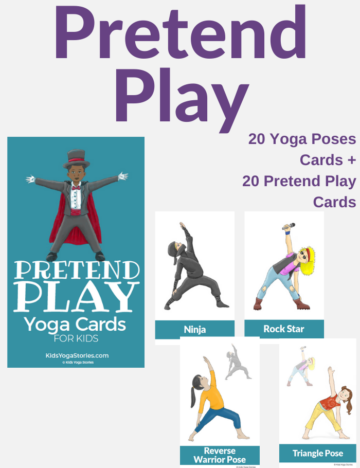 Pretend Play Yoga Cards for Kids | Kids Yoga Stories