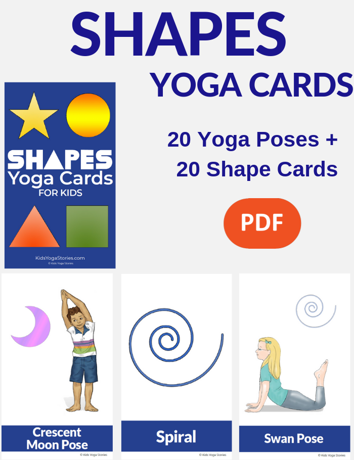 shapes learning tools for kids | Kids Yoga Stories
