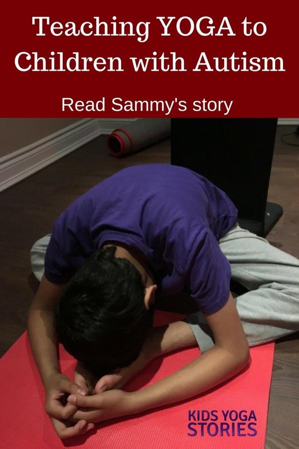 Meet Sammy - yoga for children with autism | Kids Yoga Stories