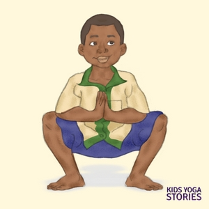 Squat Pose for Kids | Kids Yoga Stories