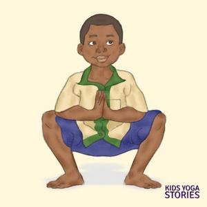 Squat Pose for Kids | Kids Yoga Stories