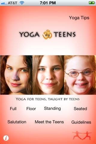 Yoga By Teens App