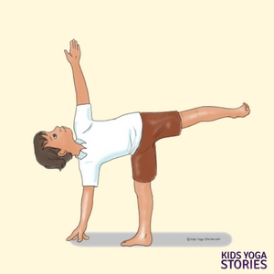 Half Moon Pose for Kids | Kids Yoga Stories