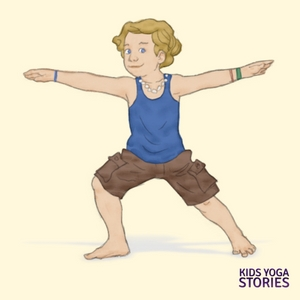 Warrior 2 Pose for Kids | Kids Yoga Stories