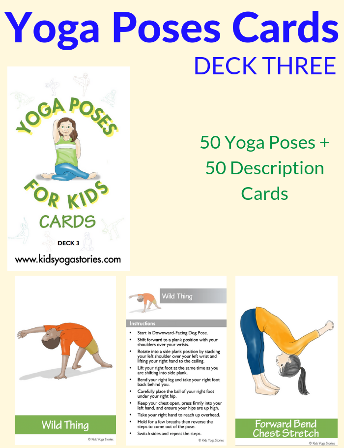 Yoga-poses-cards-deck-three | Kids Yoga Stories
