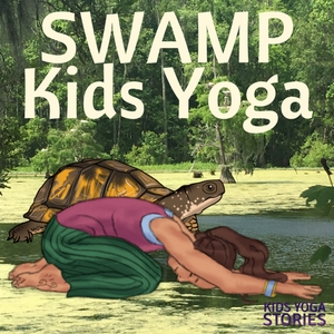5 Swamp Books for Kids and 5 Swamp Animal Yoga Poses for Kids - to learn about swamp life through books and movement | Kids Yoga Stories