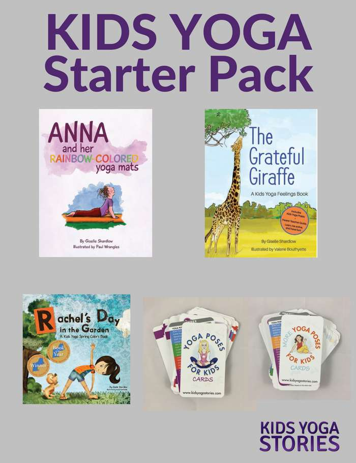 Kids Yoga Starter Pack (English) Image