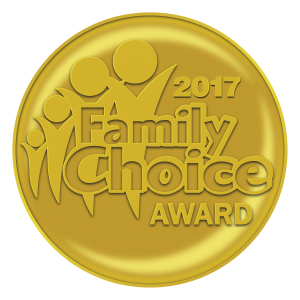 Family Choice Award 2017 for Katie's Karate Class - Kids Yoga Stories