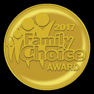 Family Choice Award 2017 for Katie's Karate Class - Kids Yoga Stories